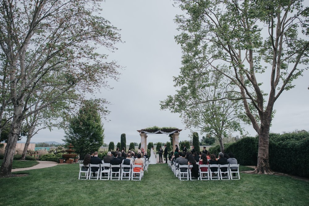 vintners Inn wedding | Santa Rosa | ceremony