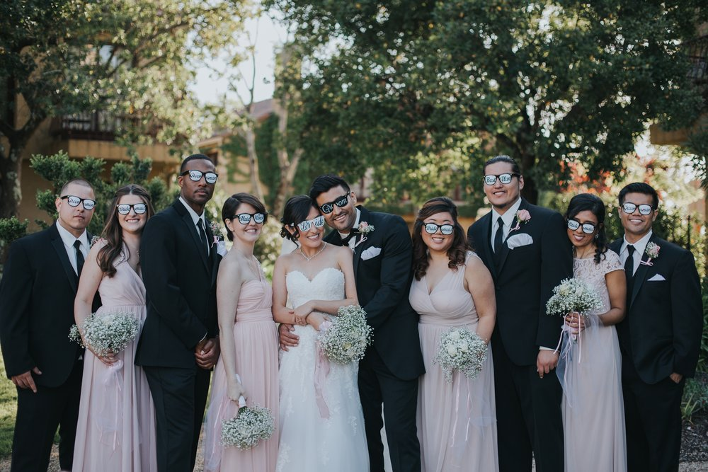vintners Inn wedding | Santa Rosa | bridal party