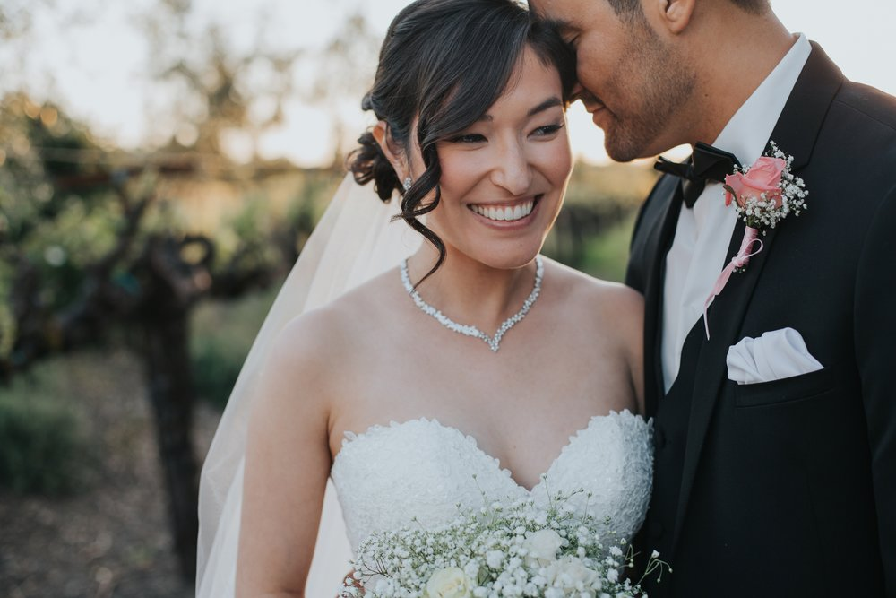 vintners Inn wedding | Santa Rosa | bride and groom