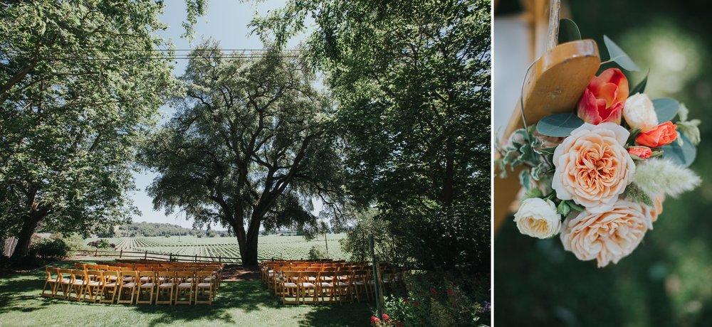 ru's farm wedding