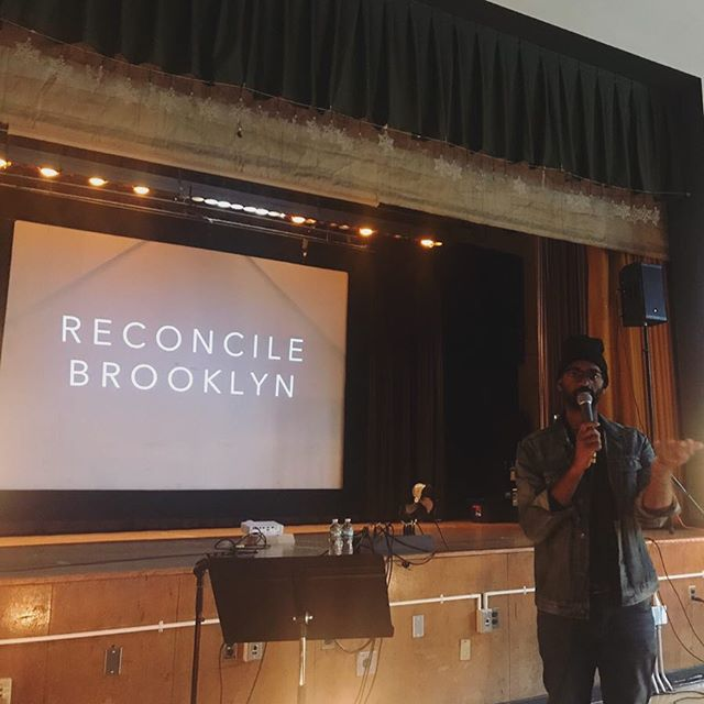 "Something special is happening in our community! Today we unveiled to our church the new name God has given us. ""RECONCILE BROOKLYN""... where the suffering find freedom, and the forgotten become known. More big news coming soon!"