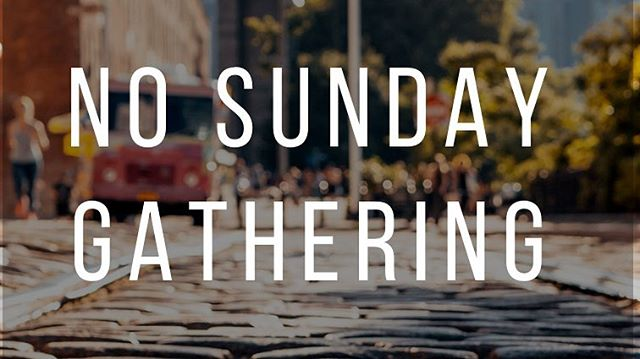 Don't forget that we will not be gathering this Sunday, December 30th.  Have a Happy New Year and we'll see you next Sunday, January 6th, 2019. Have a Happy New Year!