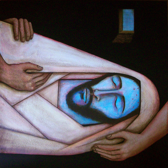 Michael D. O'Brien, 'Jesus Laid in the Tomb' 2009