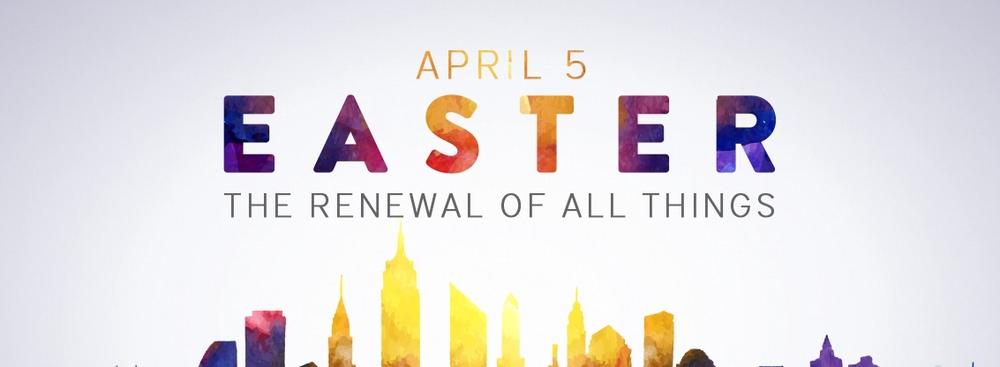 Celebrating the resurrected Jesus!