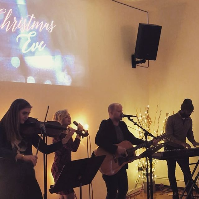 Beautiful evening service coming together for tonight. Merry Christmas! 5pm @renewqueens #wellspringchurchnyc #christmaseve2017