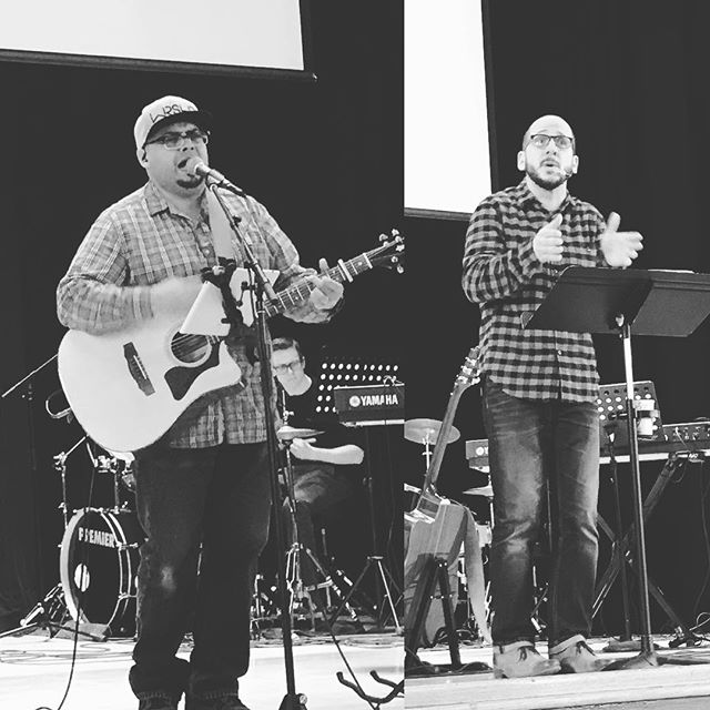 Two great friends and leaders shared their gifts with us this morning to close out 2017. Thanks @jacobthornhill and @macholara_nyc #wellspringchurchnyc