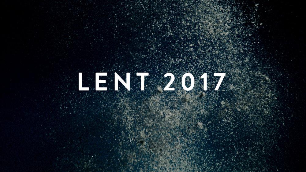 Lent 2017