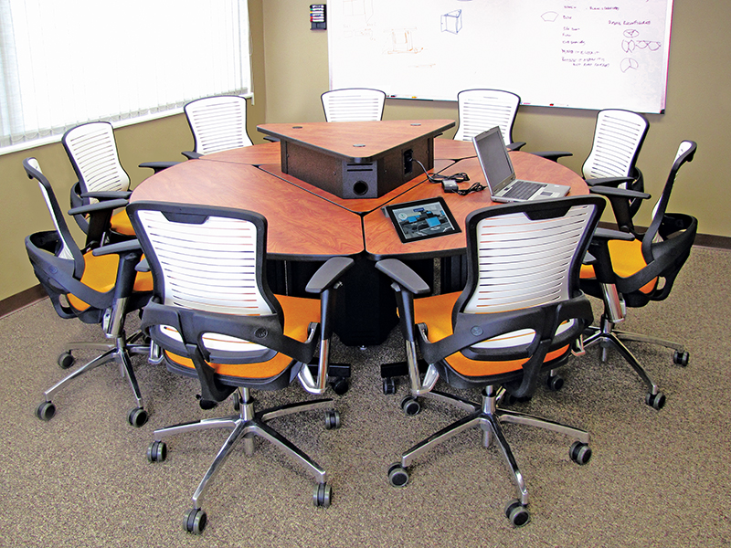 Collaborative Student Desks ~ Collaborative tables — delcom group
