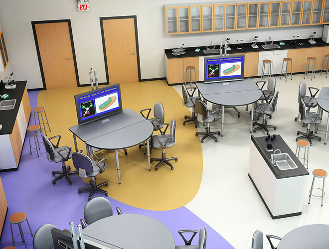 Collaborative Classroom Technology ~ Collaborative tables — delcom group