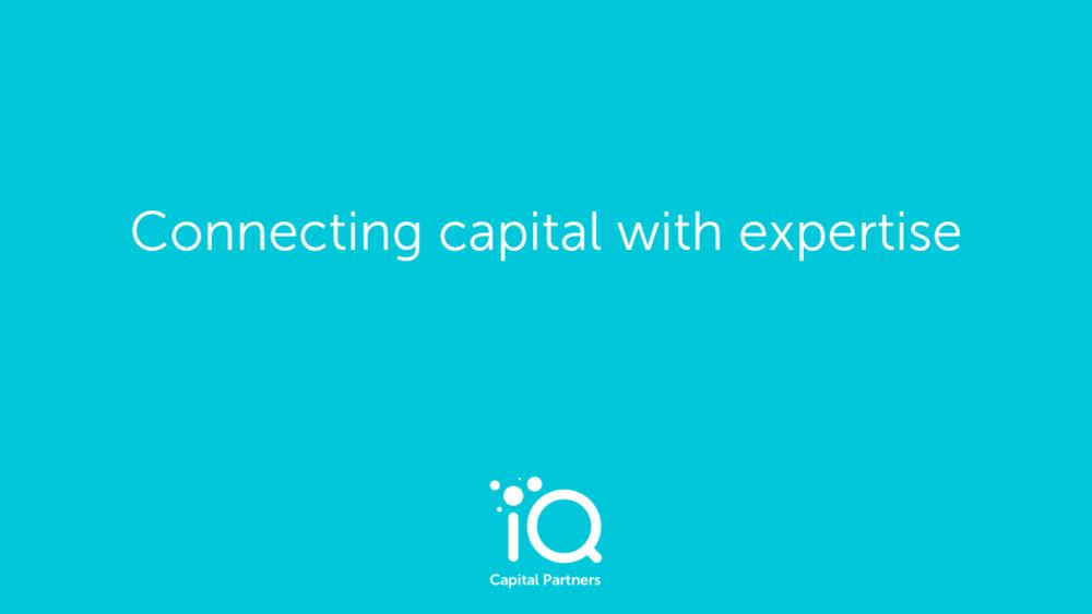 IQ Capital logo and tagline