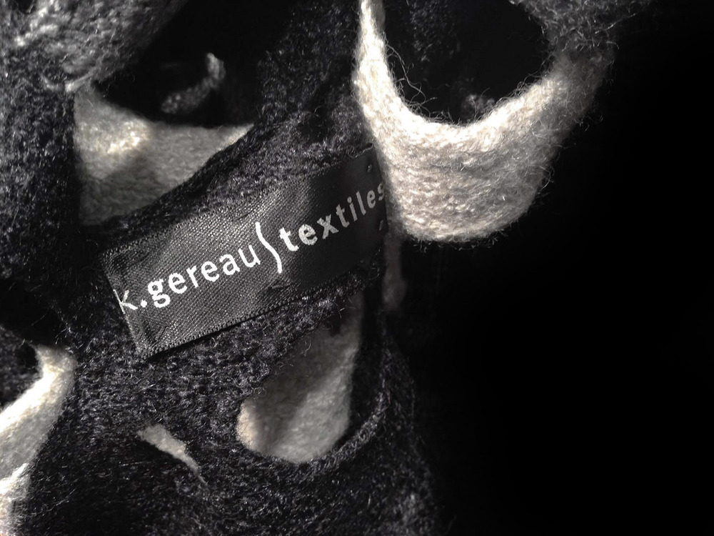 Close Up of K.Gereau Textiles logo