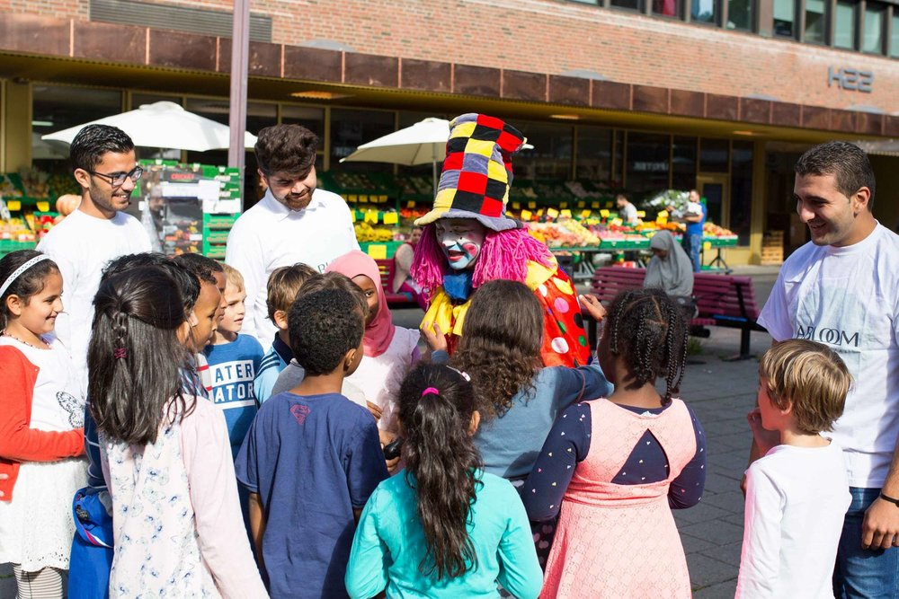 Det var barn både fra Tøyen skoler og barnehager i distriktet til stedet på festivalen.