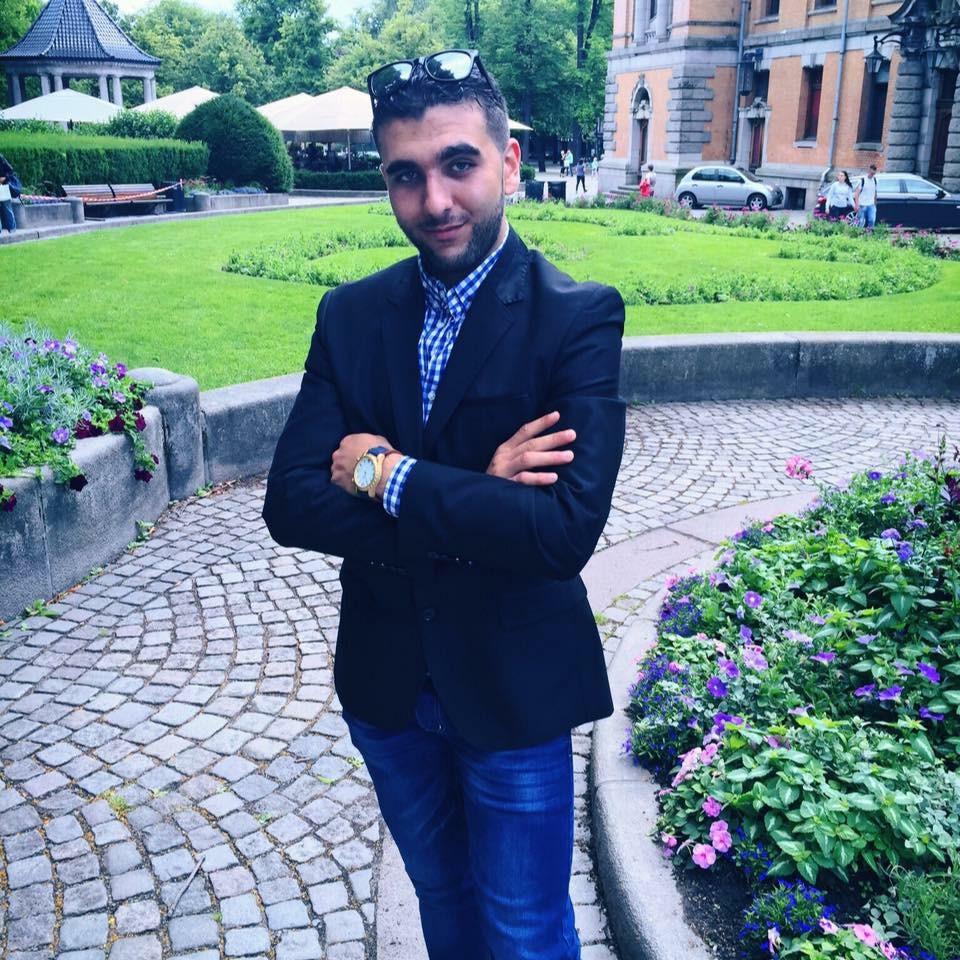 ENGASJERT: Muneer fra Syria skal være hos Abloom to dager i uken. Vi gleder oss! Foto: Privat