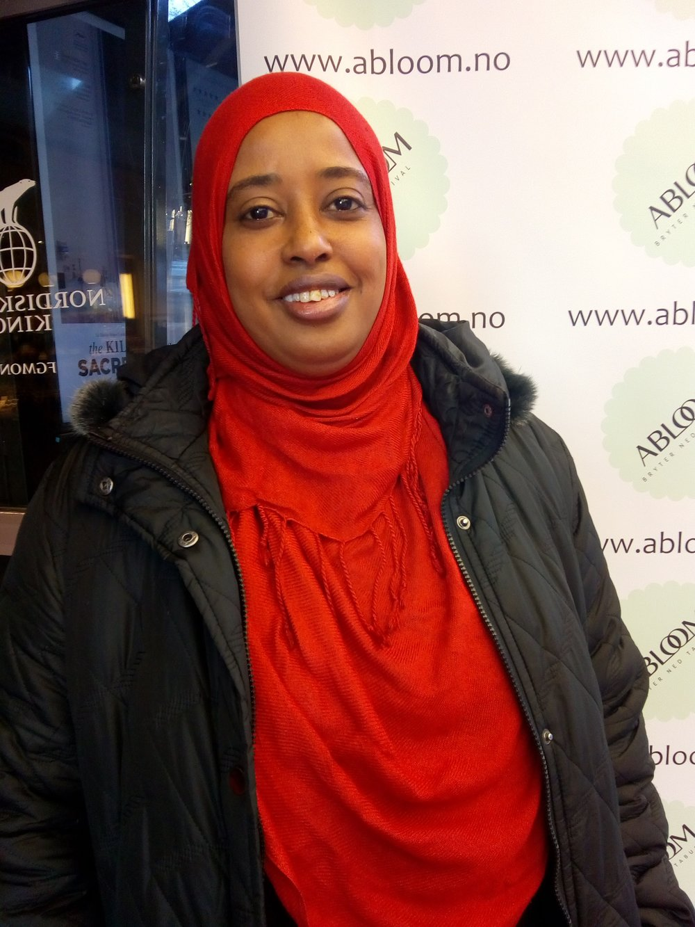 Takknemlig:– Gjennom Abloom oppdaget jeg at jeg ikke var alene om å ha barn med nedsatt funksjonsevne. Det ga meg styrke, sier Faiso Ahmed.