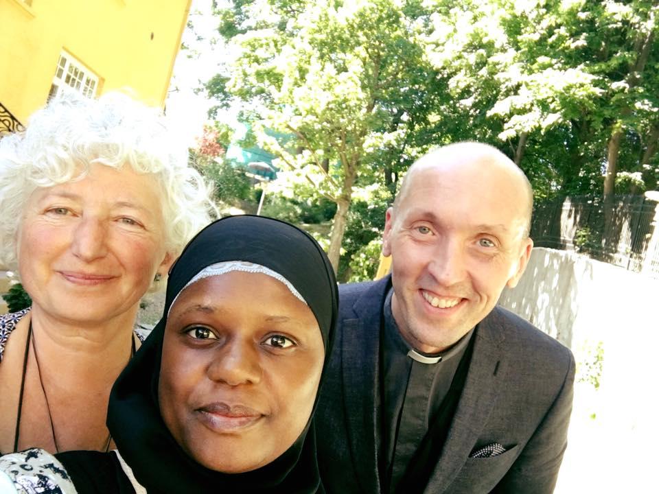 Annsi Elenius- - Vi hadde et godt møte med finsk ambassade og møtt den finske presten i Norge. Sammen bryter vi tabuene! Finsk prest i Norge.#samarbeid