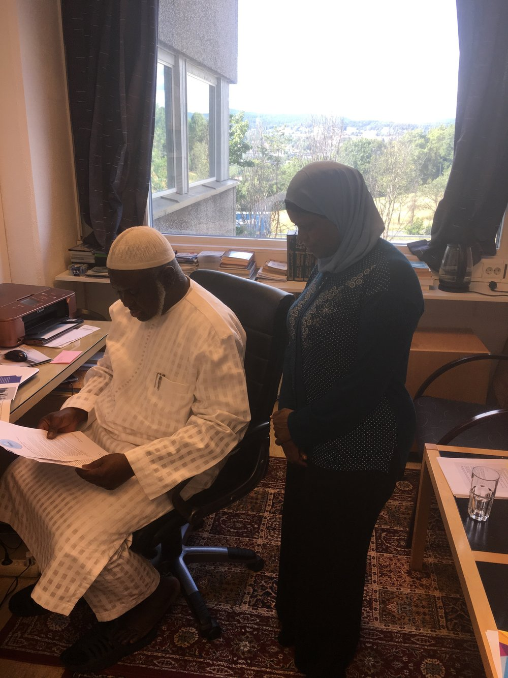 Daru Salaam Islamic Centre - Vi har gleden av å presentere vår nyeste samarbeidspartner.Sammen bryter vi tabuene!#samarbeid