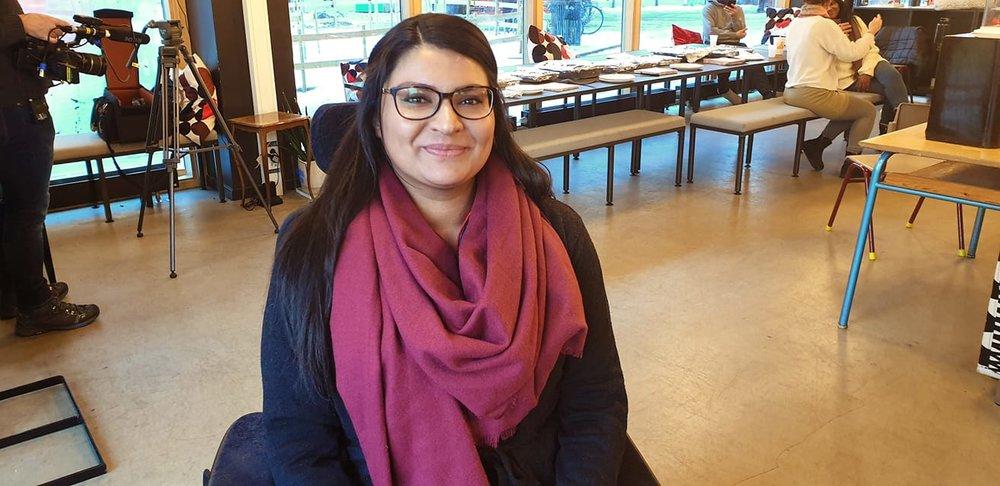 Sadia Jabeen Iqbal er med på Abloom Workshop! - Jeg vil belyse at funksjonsnedsettelse ikke er straff. Det er heller en glede og kan gi et annet perspektiv på livet og samfunnet, forteller Sadia.