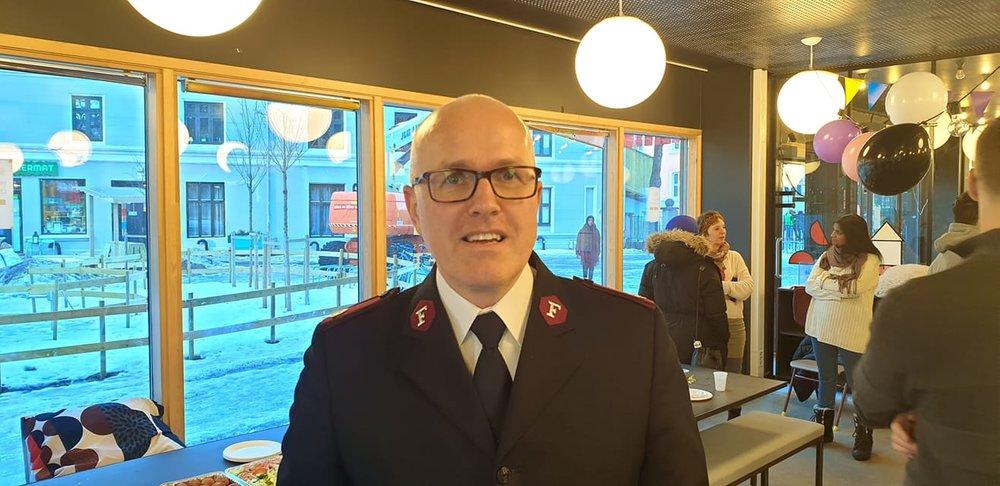 Knut Haugsvær i Frelsesarmeen