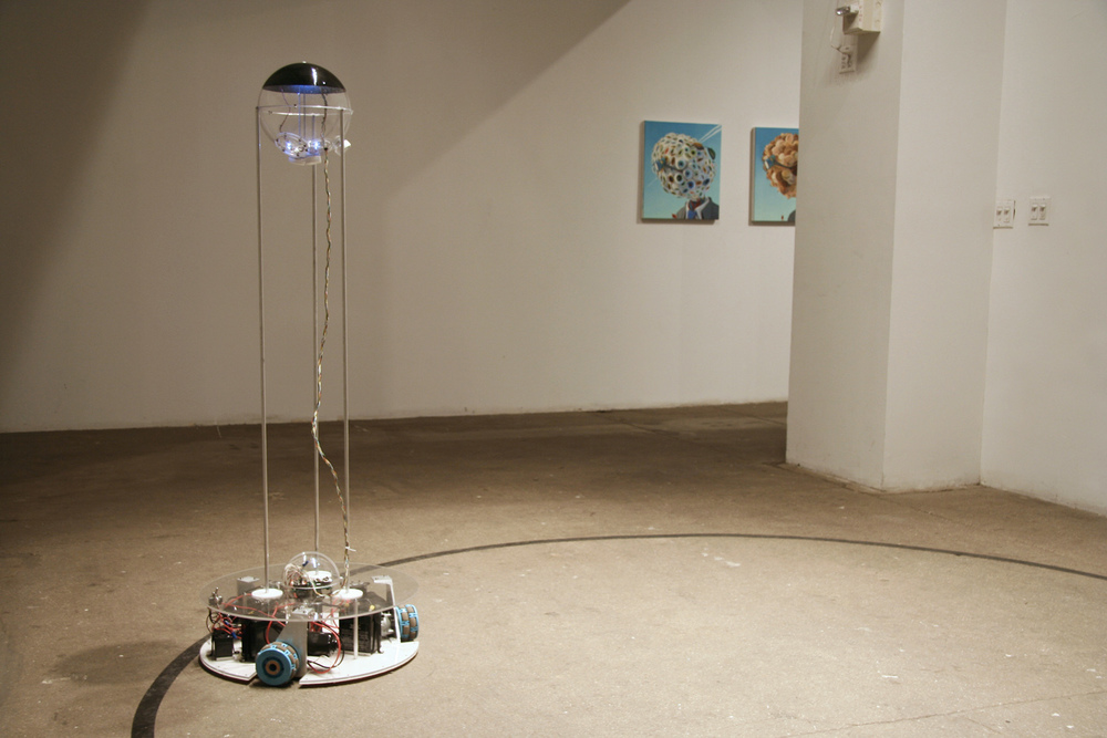 Installation view at Exit Art, New York
