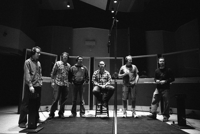 Vocal Overdubs at Capitol Studios, late nineties.