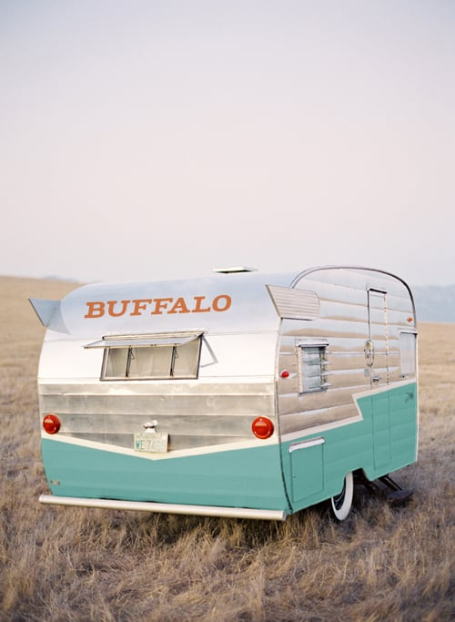 "The Buffalo Mobile  To celebrate the company's 40th anniversary in 2014, Buffalo had a traveling pop-up shop full of cherry picked secondhand finds in a vintage airstream. But what if there was a smaller vehicle that regularly traveled around  your  city? Now there is. Introducing the ""Buffalo Mobile"": it's like an ice cream truck for vintage clothes."