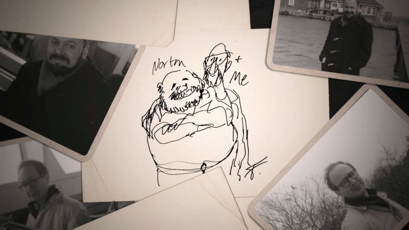 Norton & Jules, as drawn by Jules Feiffer