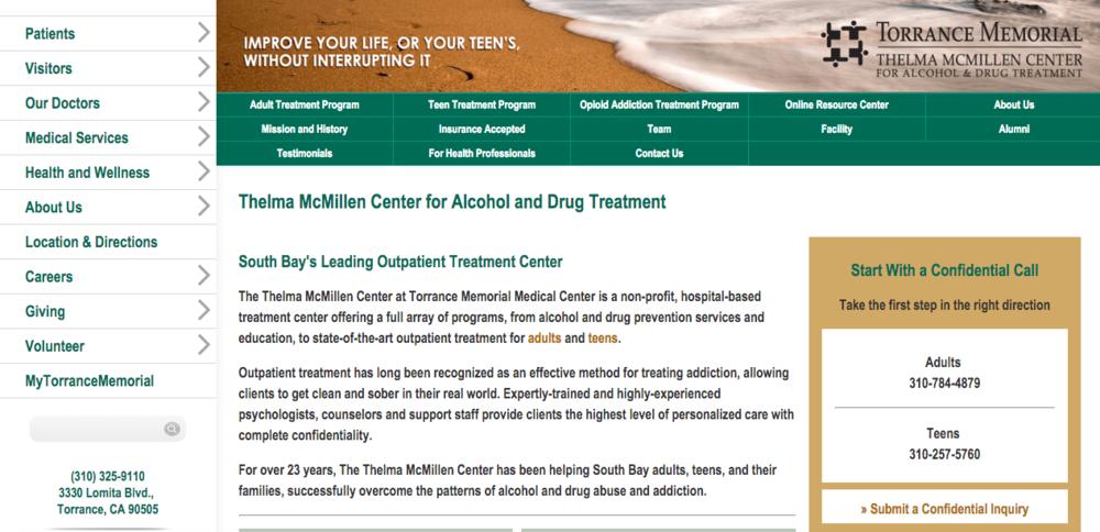 thelma-mcmillen-center-website