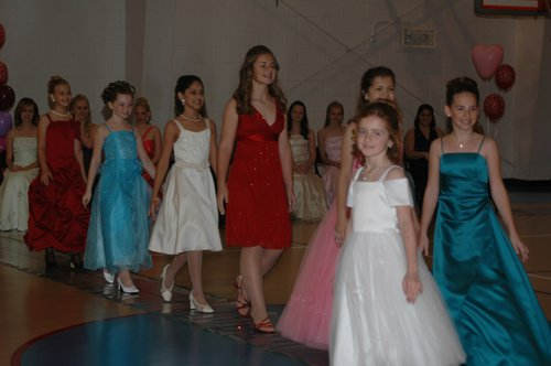 Can you spot me??? Me in 8th grade, clearly not fitting in OR killing the pageant game