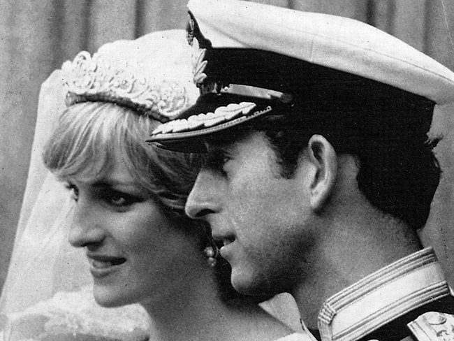 Prince Charles & Lady Diana at their 1981 Wedding