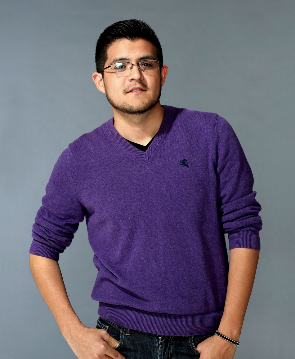 """I still wear crosses all the time.  I identify as a bisexual who also happens to be Christian bisexual.  There aren't too many Christian bisexuals, at least that I know of.  So it is a little bit difficult to stick to labels."" - Isaac Cruz, Age: 27"