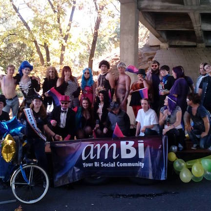 Our wonderful amBi Contingent for 2016 Rogue Valley Pride