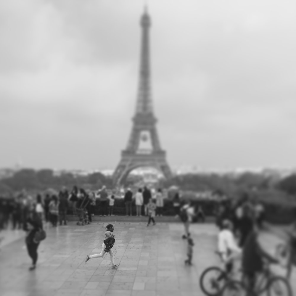 Running Girl, Paris, France