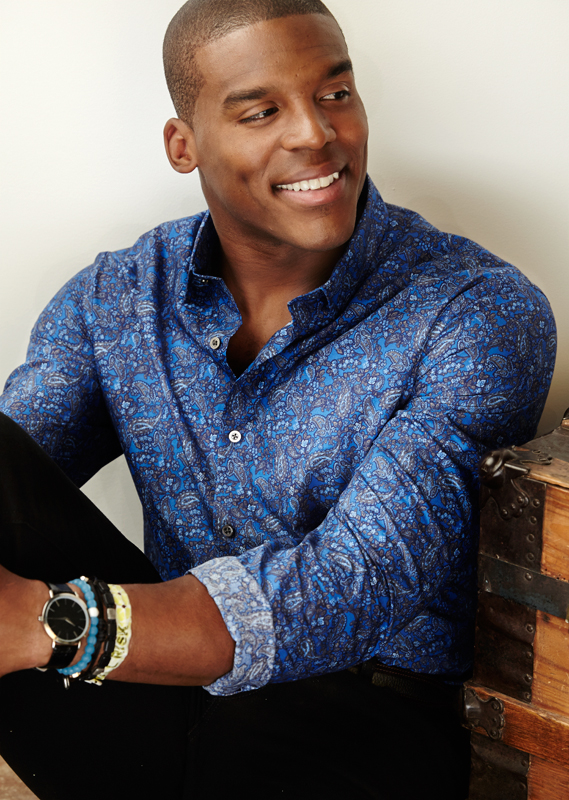 Cam Newton MADE Clothing for Belk -