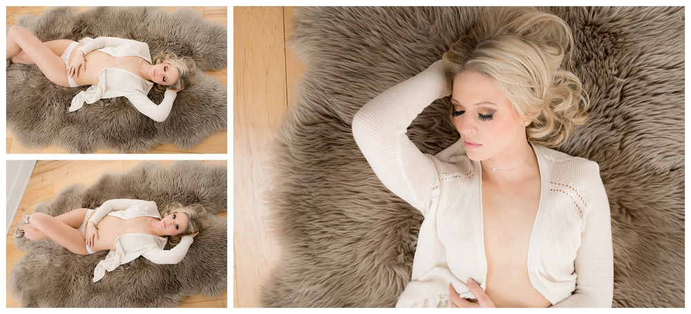 Boudoir Portraits in Holland Michigan