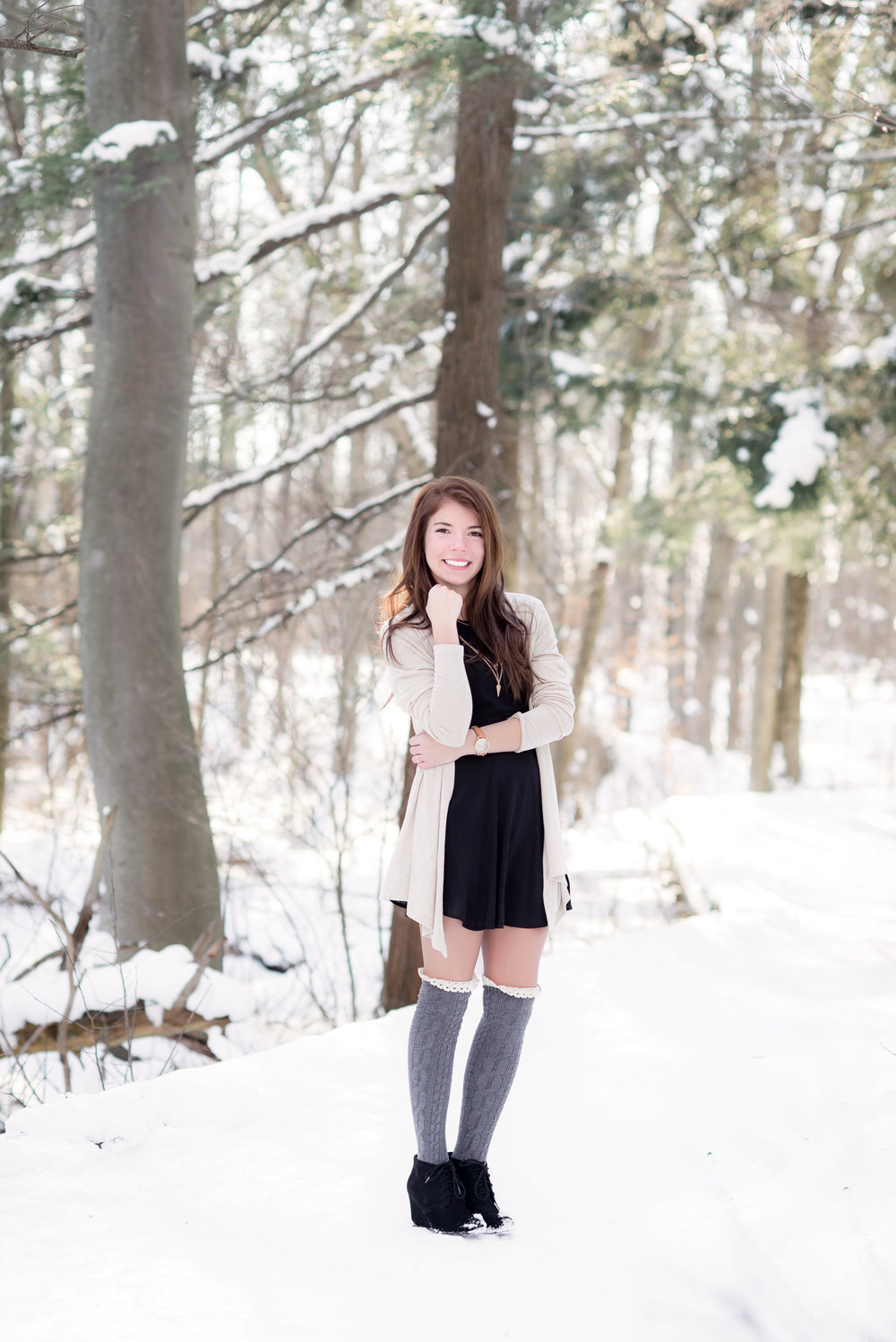 Cold Winter Senior Session