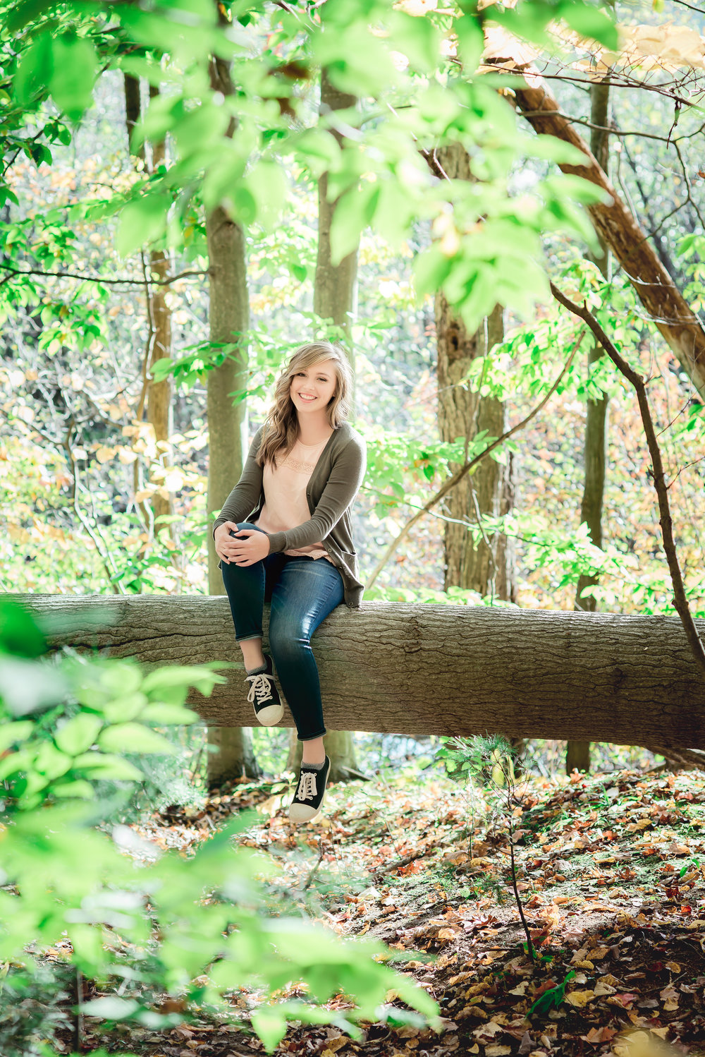 Grand Rapids Woods Senior Session