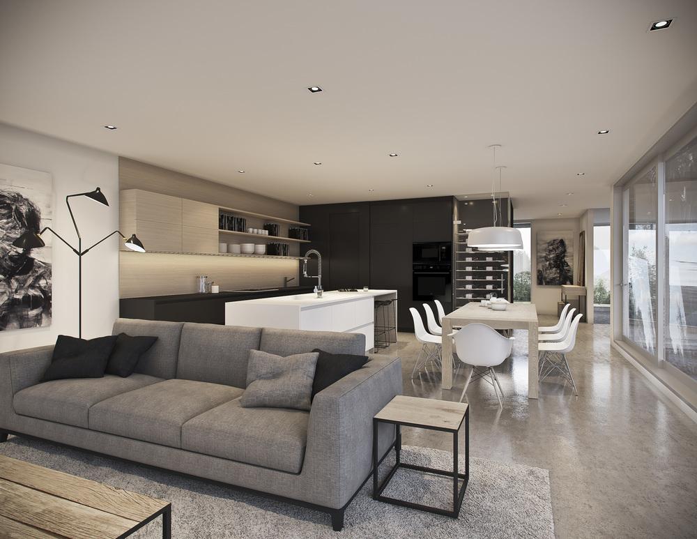Espace Intérieur Cuisine, salle à manger, salon