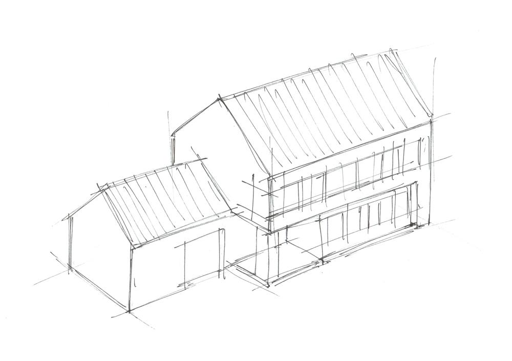 Étude de volumétrie architecturale
