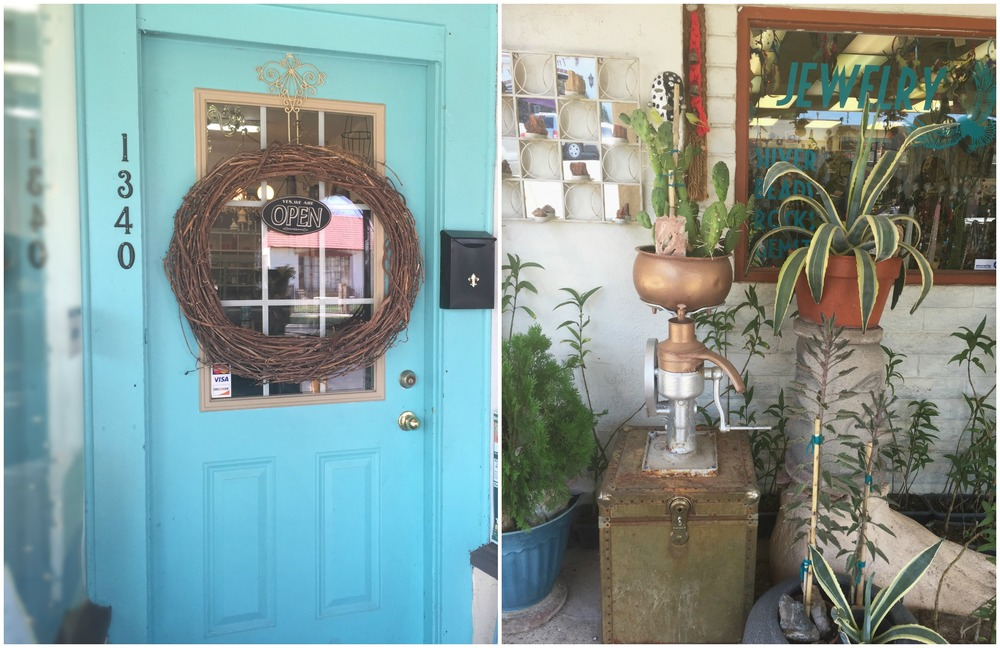 Custom home goods emporium.                 Cactus, succulents and house plants.