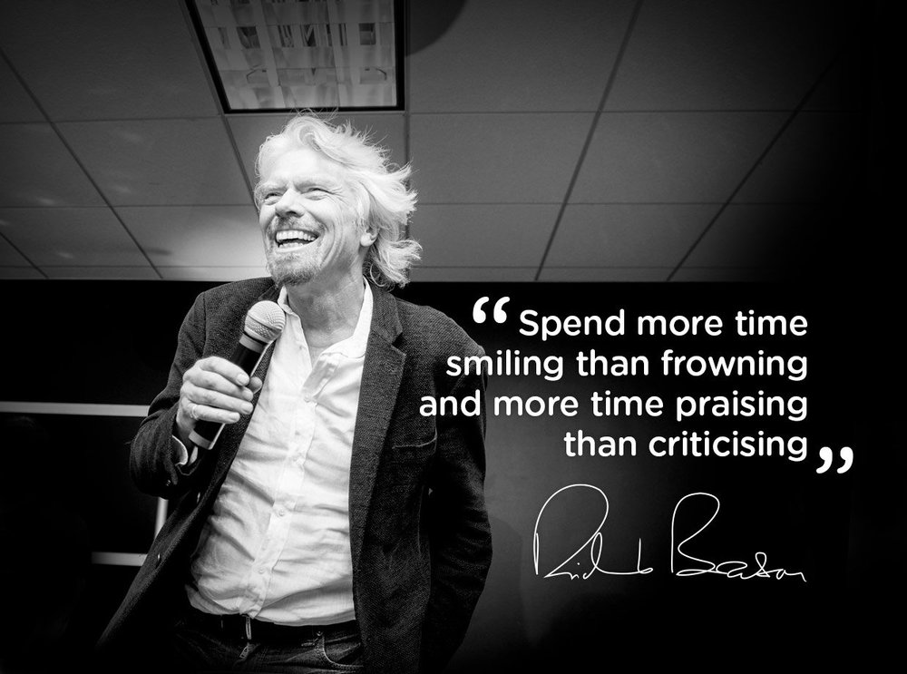 tips for success from richard branson
