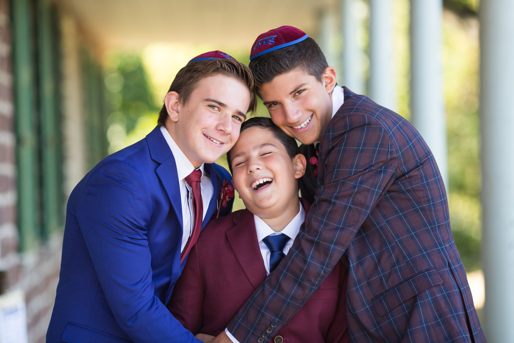 Bar Mitzvah portraits - real moments