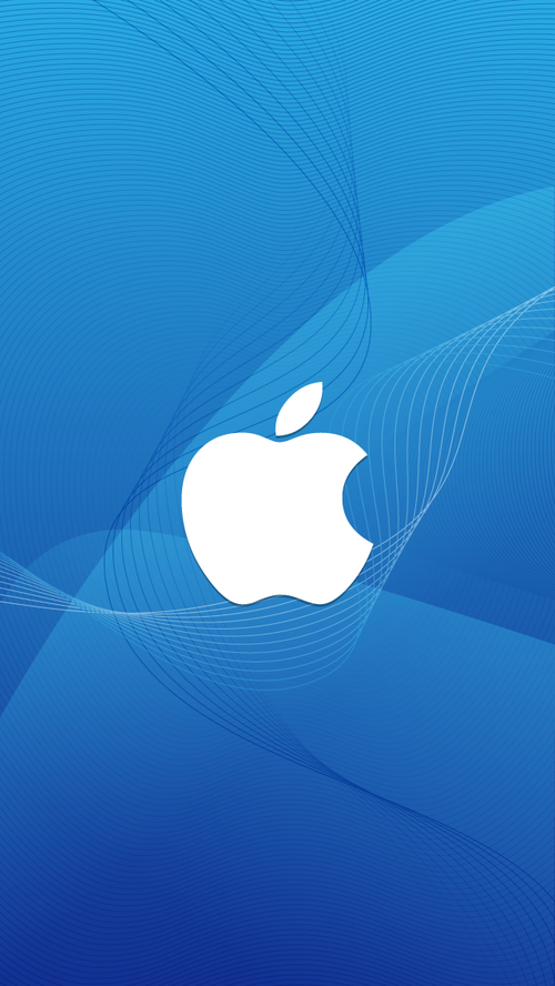 apple-logo-in-wave-iphone-5-wallpaper-ilikewallpaper_com.
