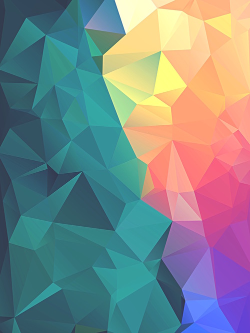Iphone 6 Plus Wallpaper Color Facets Img 5549