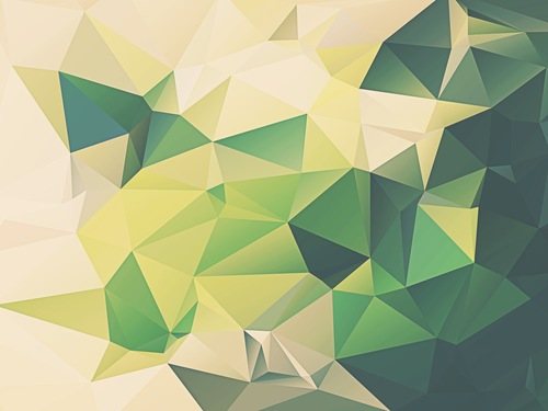 Iphone 6 Plus Wallpaper Yellow Green Facets 1