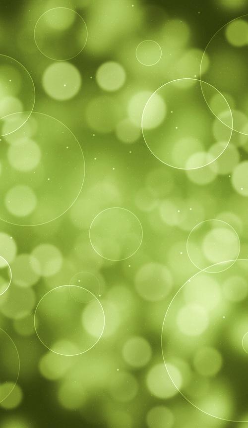 Iphone 6 Plus Wallpaper Green Bubbles
