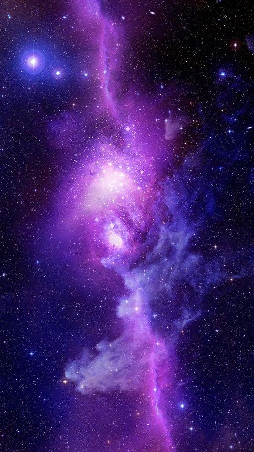 Purple Space Iphone Wallpaper Purple-space-iphone-6