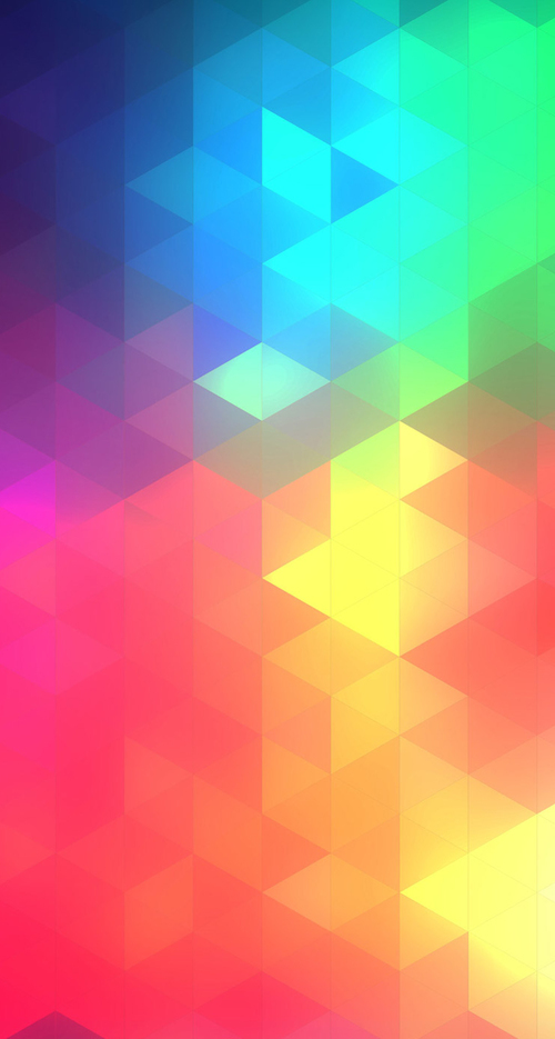 1 Iphone 6 Wallpaper Hd Ios8 Color Triflat