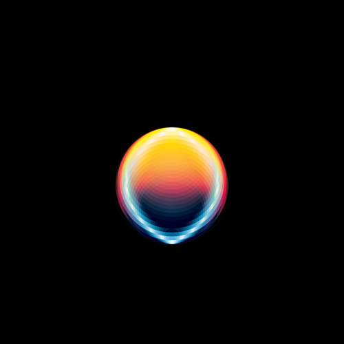 Abstract Of Color Orb Iphone 6 Plus Ipad
