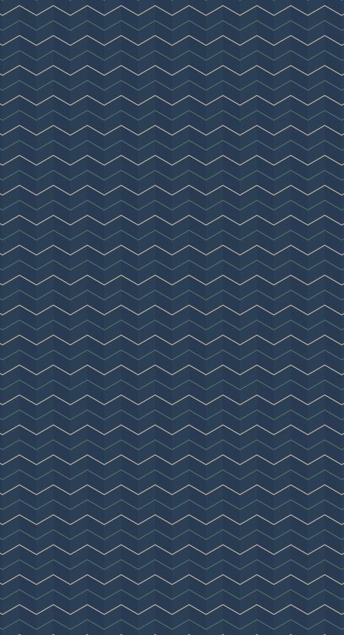 Iphone 6 Plus Zig Zag Wave Pattern