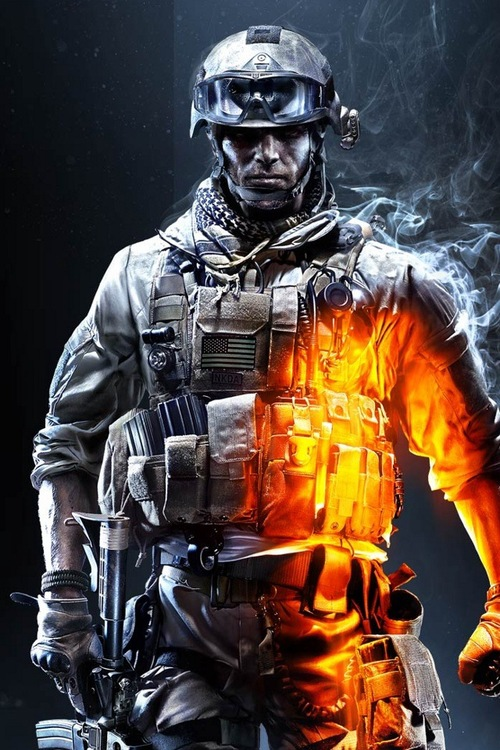 Battlefield 3 Iphone 4 Ipod Touch 4g Background